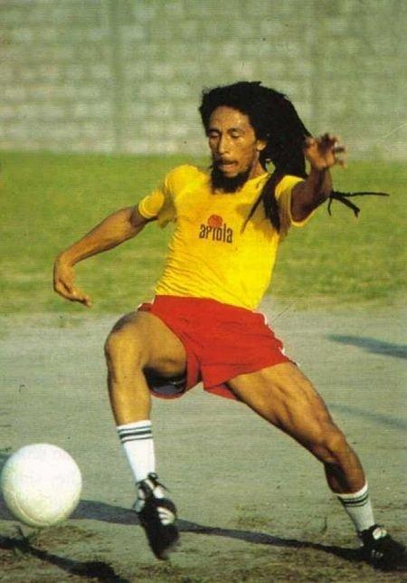 bob marley futbolista
