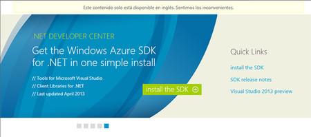 Django en Visual Studio 2012, web de descarga