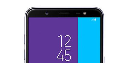 Selfies para medir la luz, el truco de Samsung para no usar sensores lumínicos frontales