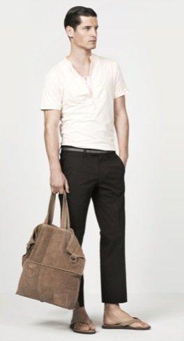 Zara propone nuevos looks para el hombre de cara al Verano 2010 II