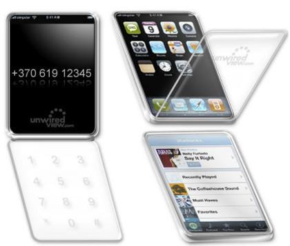 Patente de Apple para un equipo con pantalla multitáctil de doble cara