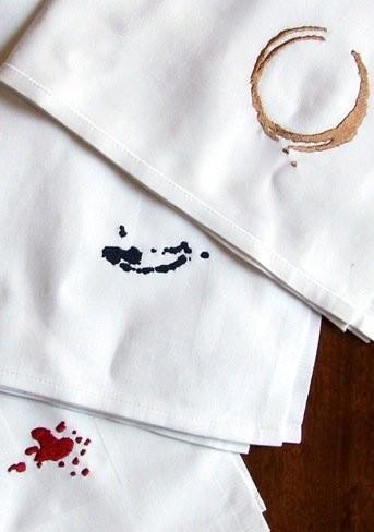 Anticípate a las manchas de tus servilletas