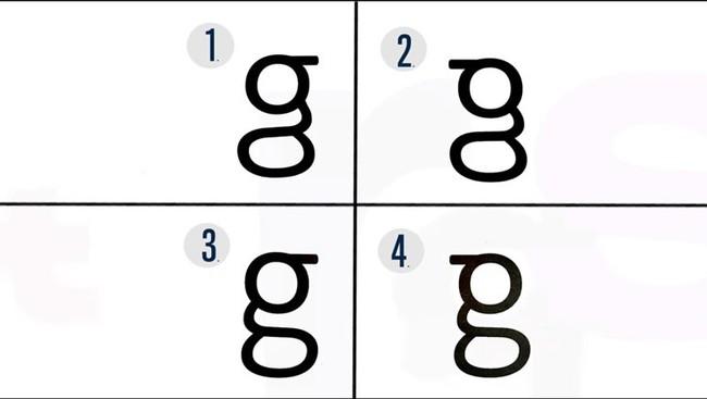 Letter G Typography Learning Neurosciencenews