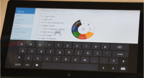 OneNote para Windows 8, se deja ver en video