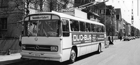 Daimler-Benz Duo-Bus trolebús de 1975