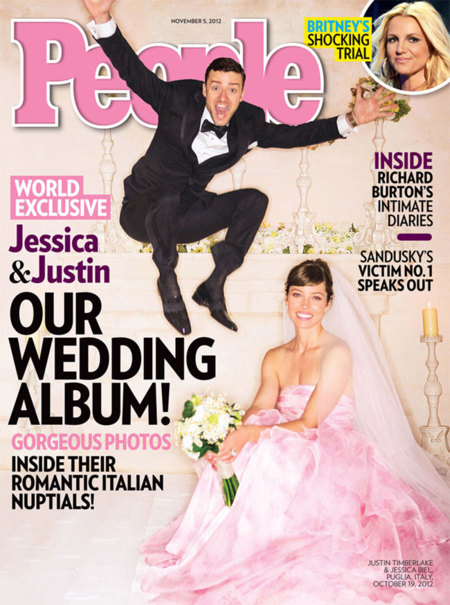 Jessica Biel Justin Timberlake Boda Vestido Novia