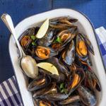 Mejillones al estilo italiano o impepata di cozze. Receta