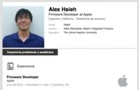 Alex Hsieh, nuevo fichaje de Apple enfocado al desarrollo del iWatch