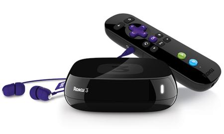Roku 3 con mando con voz