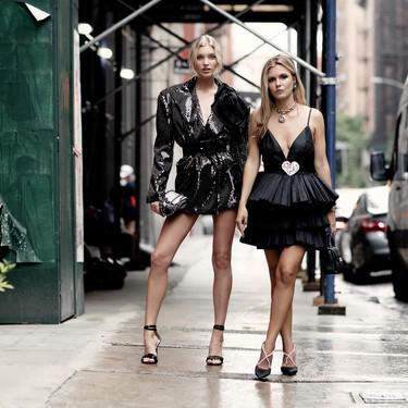 Si lo tuyo es el negro, el street style de NYFW nos da las tres claves para combinarlo esta temporada