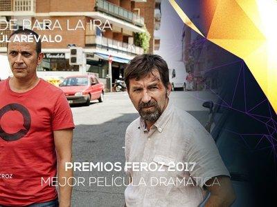 Premios Feroz 2017 | 'Tarde para la ira' ha sido la gran triunfadora