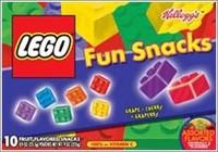 Gominolas en forma de piezas de Lego
