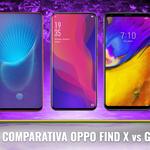 Enfrentamos el Oppo Find X con los principales gama alta casi sin marcos de 2018