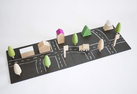 ciudad minimalista de juguete - 2