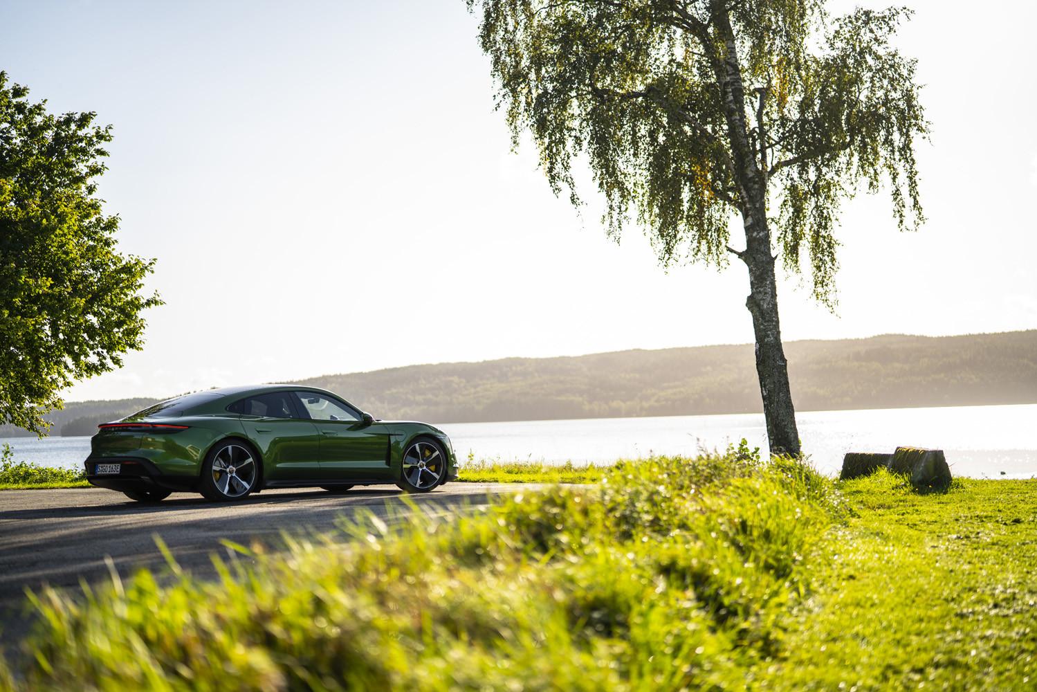 Foto de Porsche Taycan prueba contacto (161/275)