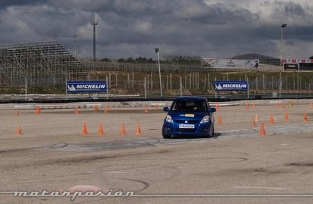 Michelin, Circuito del Jarama, Neumáticos nuevos y neumáticos desgastados a prueba 08