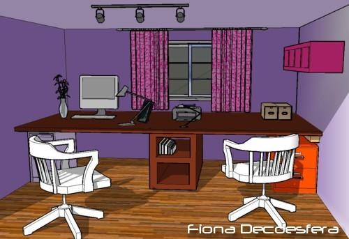 Foto de Hazlo tú mismo: un escritorio con una encimera de cocina (11/14)