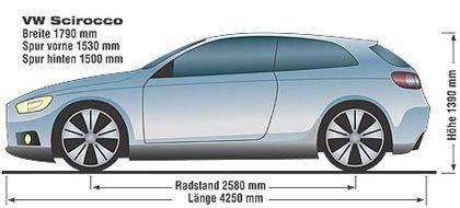 Volkswagen Scirocco, nuevas imágenes y datos
