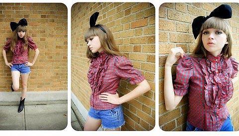 Cómo llevar una diadema: chicas anónimas