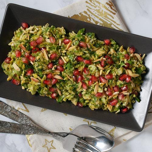 Coles de Bruselas crujientes en ensalada o guarnición: receta con Magimix Cook Expert (y también elaboración tradicional)