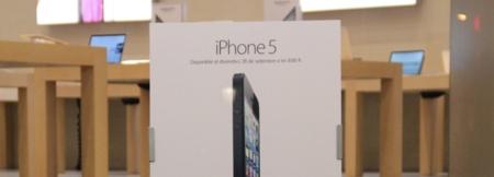cartel iphone 5 apple store