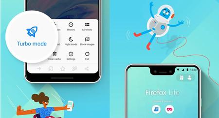 Firefox Lite llega a la versión 2.0 con más minijuegos, búsqueda de compras e igual de ligero que siempre