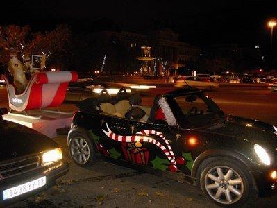 Papa Noel se apunta al Mini