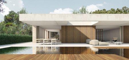 En La Cañada, una casa minimalista firmada por Ramón Esteve