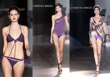 Bañadores Guillermina Baeza Primavera-Verano 2010 en Cibeles Fashion Week