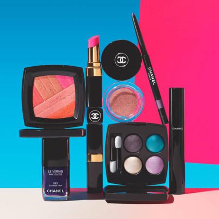 La variedad de colores y la desbordante energía de la colección LA Sunrise de Chanel