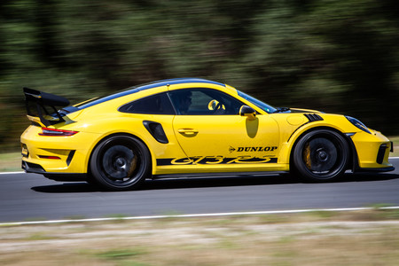 Porsche 911 GT3 RS 2018 lateral