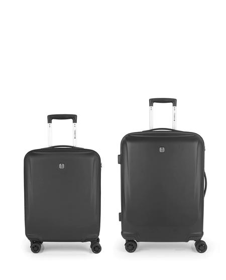 Juego de 2 maletas (cabina y mediana) Vermont rígidas con capacidad de 95 L