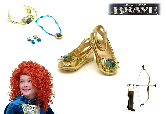Brave accesorios para disfraces de Mérida