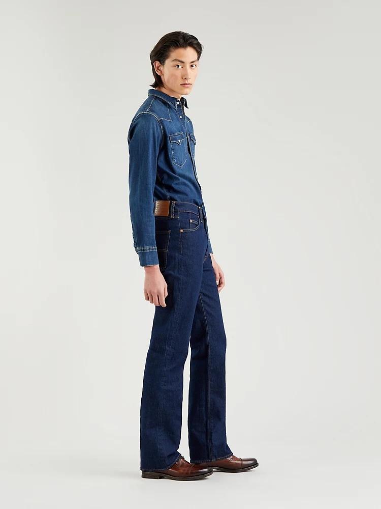 Presentamos nuestro talle más alto para hombre hasta la fecha. Inspirados en los años 70, 90 y nuestros cortes Orange Tab, subimos el listón, con la cintura, de este jean urbano de última moda.