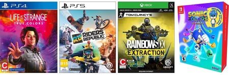 Juegos disponibles en reserva en Amazon México
