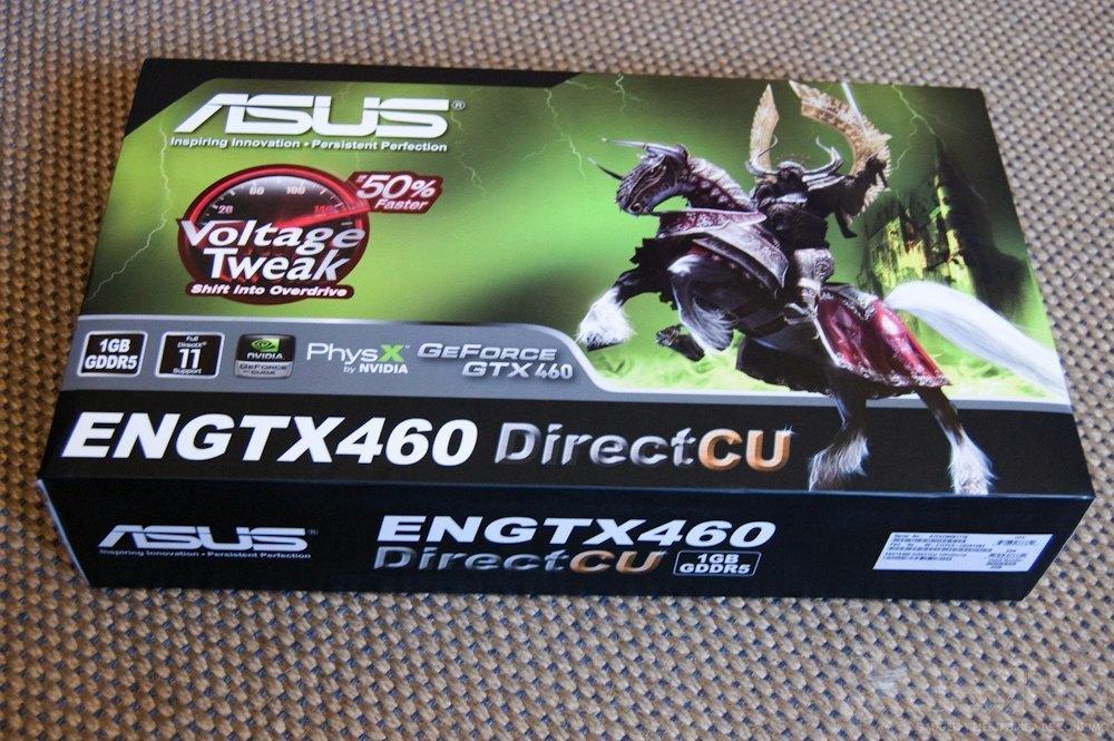 NVidia GTX 460, análisis