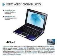 Asus 1000HV-BLU007X, ultraportátil con gráfica ATi 3450 dedicada