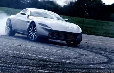Aston Martin DB10 o por qué James Bond debería llevar botines Alpinestars
