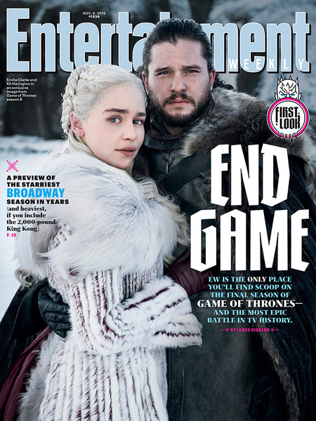 Portada Entertainment Weekly Juego De Tronos Octava Temporada