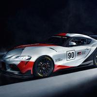 Toyota GR Supra GT4 Concept: más ligero y aerodinámico, y preparado para conquistar circuitos