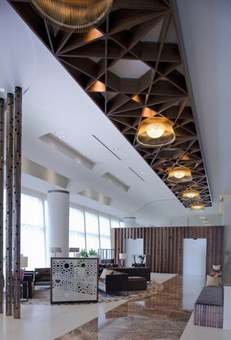 Lounge VIP de Rizon Jet para pasajeros en London Biggin Hill Airport
