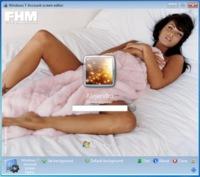 Cambia la pantalla de login de Windows 7 con Account Screen Editor