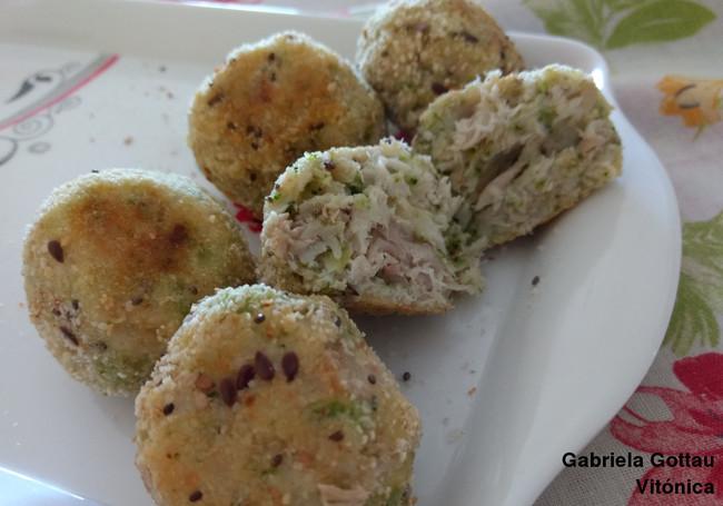 Albóndigas de merluza y brócoli: receta saludable