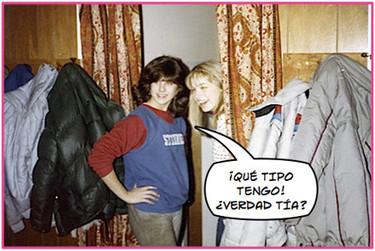 Imágenes de la Aniston en el cole