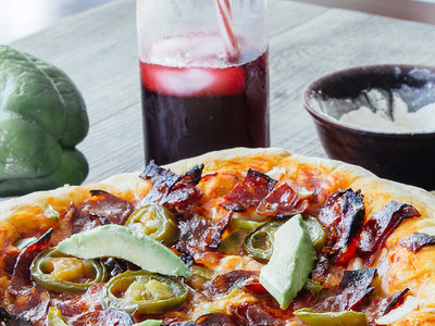 Pizza mexicana casera. Receta en video