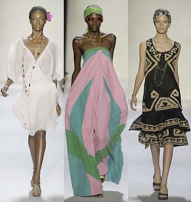 Diane Von Furstenberg en la Semana de la Moda de Nueva York Primavera/Verano 2008