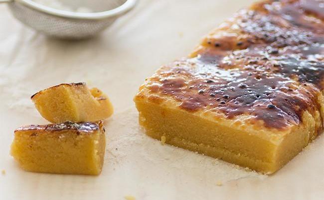 Cómo hacer turrón de yema tostada. Receta