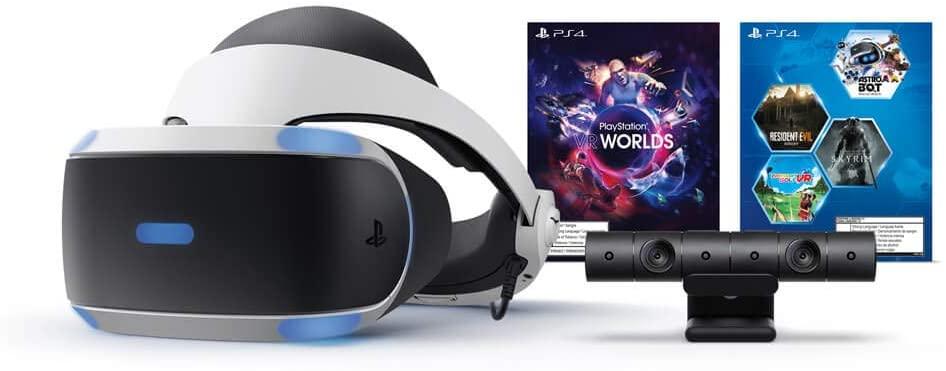 Paquete PlayStation VR Megapack (Lentes de Realidad Virtual + Cámara + 5 juegos descargables)
