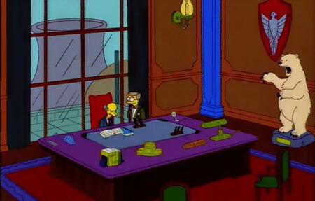 Los Simpsons Wes Anderson
