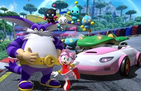 Team Sonic Racing suma seis pilotos por el precio de tres: Amy, Big y los Chaos confirmados